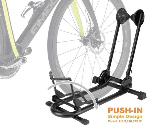 Bikehand Bike Floor Parking Rack Storage Stand