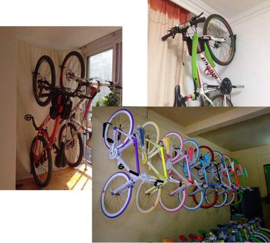 Dirza Bike Rack Garage Wall Mount Bike Hanger Storage System