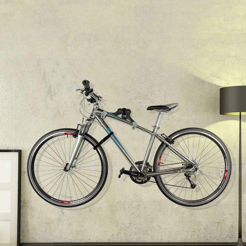 Ibera Horizontal Bicycle Bike Wall Hanger