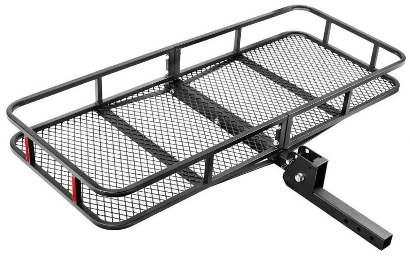 Leader Accessories Hitch Mount Cargo Basket
