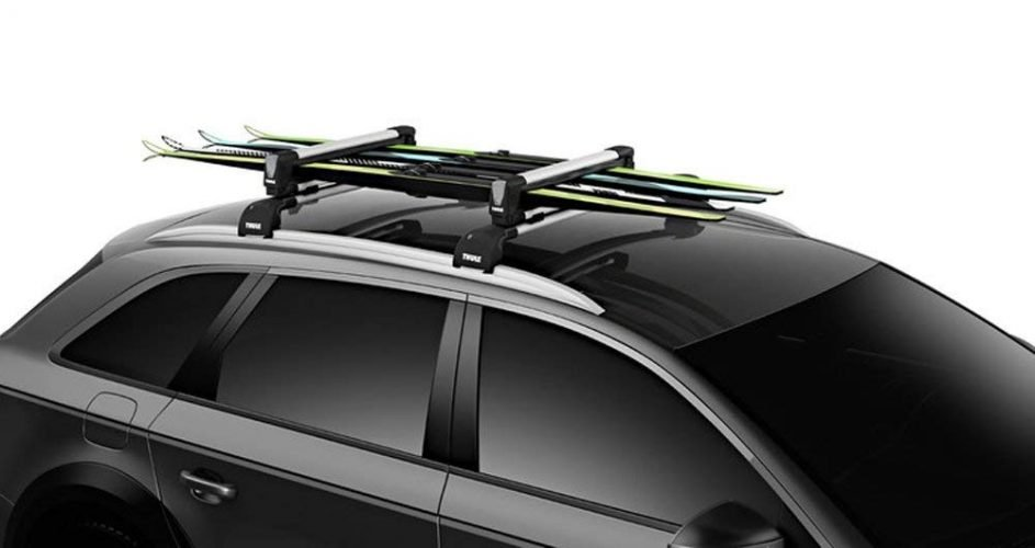 Thule SnowPack Roof Mounted Ski Carrier