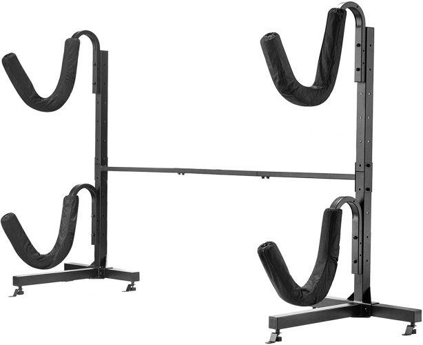 Rad Sportz Freestanding Deluxe Heavy Duty Kayak Rack